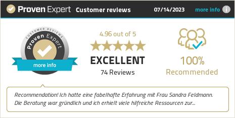Kundenbewertungen & Erfahrungen zu Sandra Feldmann. Mehr Infos anzeigen.
