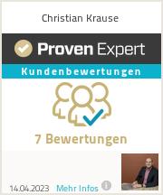Erfahrungen & Bewertungen zu Christian Krause