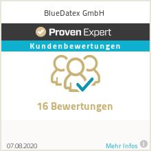 Erfahrungen & Bewertungen zu BlueDatex Health GmbH