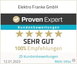Erfahrungen & Bewertungen zu Elektro Franke GmbH