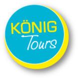 Buch Dein Visum by König Tours