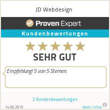 Erfahrungen & Bewertungen zu JD Webdesign