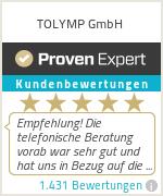 Erfahrungen & Bewertungen zu TOLYMP GmbH & Co. KG