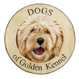 Dogs of Golden Kennel logo