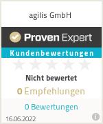 Erfahrungen & Bewertungen zu agilis GmbH