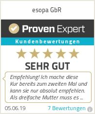 Erfahrungen & Bewertungen zu esopa GbR