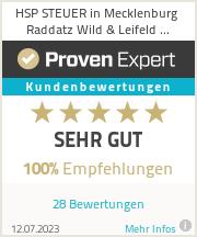 Erfahrungen & Bewertungen zu HSP STEUER in Mecklenburg Raddatz Wild & Reinke Steuerberatungsgesellschaft mbH