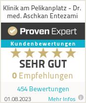 Erfahrungen & Bewertungen zu Klinik am Pelikanplatz - Dr. med. Aschkan Entezami