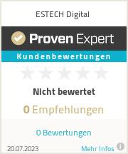 Erfahrungen & Bewertungen zu ESTECH Digital