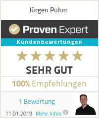 Erfahrungen & Bewertungen zu Jürgen Puhm