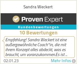 Erfahrungen & Bewertungen zu Sandra Weckert