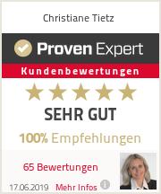 Erfahrungen & Bewertungen zu Christiane Tietz