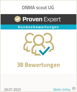 Erfahrungen & Bewertungen zu ONMA scout UG