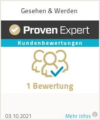 Erfahrungen & Bewertungen zu Gesehen & Werden