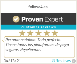 Ratings & reviews for foliosa4.es