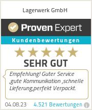 Erfahrungen & Bewertungen zu Lagerwerk GmbH
