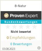 Erfahrungen & Bewertungen zu 8-Natur