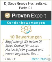 Erfahrungen & Bewertungen zu Dj Steve Groove Hochzeits-u. Party-DJ