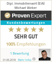 Erfahrungen & Bewertungen zu Dipl. Immobilienwirt (EIA) Michael Weber
