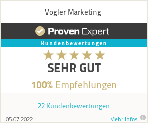 Erfahrungen & Bewertungen zu Vogler Marketing