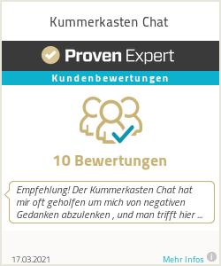 Erfahrungen & Bewertungen zu Kummerkasten Chat