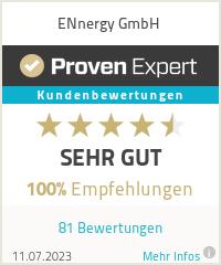 Erfahrungen & Bewertungen zu ENnergy GmbH