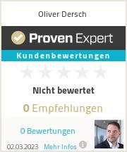 Erfahrungen & Bewertungen zu Oliver Dersch