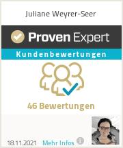 Erfahrungen & Bewertungen zu Juliane Weyrer-Seer