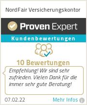 Erfahrungen & Bewertungen zu NordFair Versicherungskontor e.K.