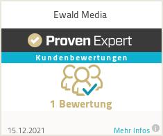 Erfahrungen & Bewertungen zu Ewald Media