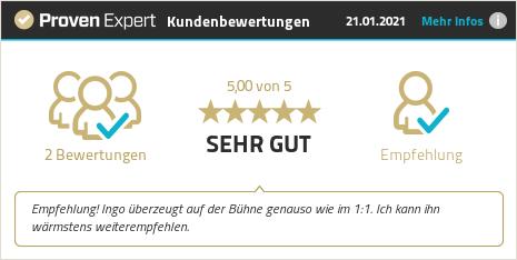 Kundenbewertungen & Erfahrungen zu Ingo Schröder. Mehr Infos anzeigen.