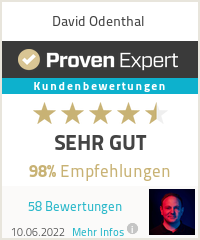 Erfahrungen & Bewertungen zu David Odenthal