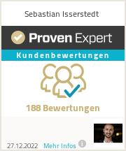 Erfahrungen & Bewertungen zu Sebastian Isserstedt