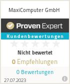 Erfahrungen & Bewertungen zu MaxiComputer GmbH