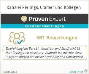 Erfahrungen & Bewertungen zu Kanzlei Ferlings, Cramer und Kollegen