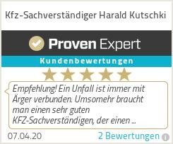 Erfahrungen & Bewertungen zu Kfz-Sachverständiger Harald Kutschki