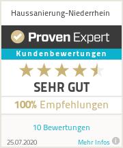 Erfahrungen & Bewertungen zu Haussanierung-Niederrhein