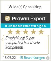 Erfahrungen & Bewertungen zu Wilde(s) Consulting