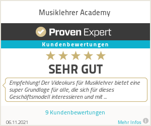 Erfahrungen & Bewertungen zu Musiklehrer Academy