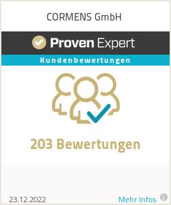 Erfahrungen & Bewertungen zu CORMENS GmbH