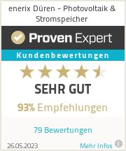 Erfahrungen & Bewertungen zu enerix Kreuzau - Photovoltaik & Stromspeicher