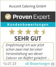 Erfahrungen & Bewertungen zu Auszeit Catering GmbH