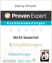 Erfahrungen & Bewertungen zu Danny Kirseck