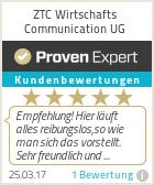 Erfahrungen & Bewertungen zu ZTC Wirtschafts Communication UG