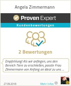 Erfahrungen & Bewertungen zu Angela Zimmermann