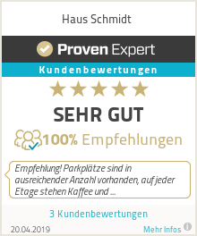 Erfahrungen & Bewertungen zu Haus Schmidt