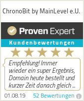 Erfahrungen & Bewertungen zu ChronoBit by MainLevel.at