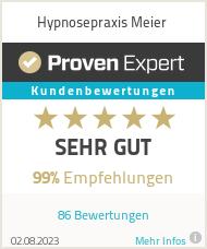Erfahrungen & Bewertungen zu Hypnosepraxis Meier