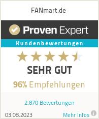 Erfahrungen & Bewertungen zu FANmart.de