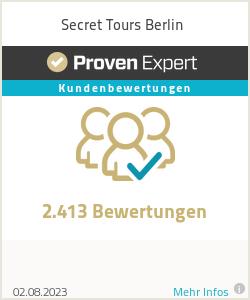 Erfahrungen & Bewertungen zu Secret Tours Berlin